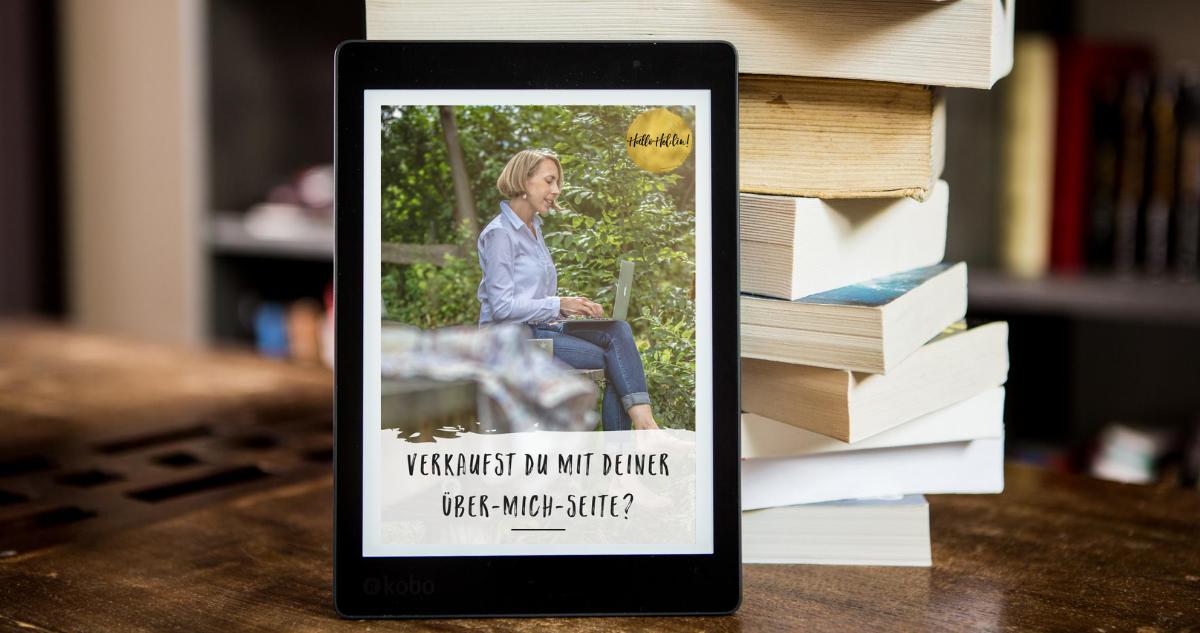 Gratis Workbook: Verkaufst du mit deiner Über-mich-Seite?